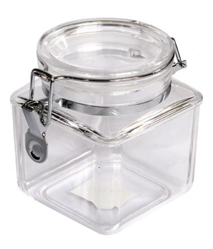 29 OZ Square Clip Jar, MS Sealed Lid